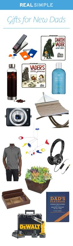 These clever, useful gifts cater to every new dad's lack of sleep, time-management needs, and wide-open heart.