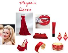 """Megan's Dinner"" by michaelamarie99 on Polyvore"