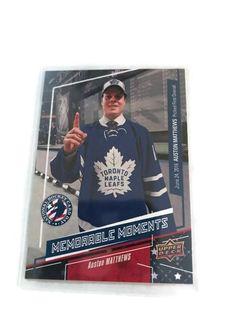 2016-2017 Upper Deck National Hockey Card Day Auston Matthews Toronto Maple Leafs