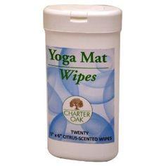 Yoga Direct Yoga Mat Cleanser Wipes
