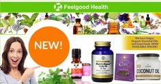 New products available online  and in store- Solgar vitamin supplements, Soil essential oils, Superfoods & Crede Coconut Oil. Click here: www.feelgoodhealth.co.za