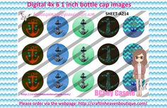 1' Bottle caps (4x6) Digital Nautical Anchor and More A214   TOM BOY BOTTLE CAP IMAGES #tomboy #hobbies #bottlecapimages #bottlecap #BCI #shrinkydinkimages #bowcenters #hairbows #bowmaking #ironon #printables #printyourself #digitaltransfer #doityourself #transfer #ribbongraphics #ribbon #shirtprint #tshirt #digitalart #diy #digital #graphicdesign please purchase via link  http://craftinheavenboutique.com/index.php?main_page=index&cPath=323_533_42_84