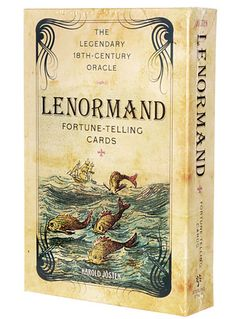Vintage Lenormand Fortune-Telling Cards at PLASTICLAND