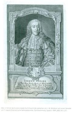 Khevenhüller-Metsch, Johann Joseph Graf von (1706-1776), curator of the coin cabinet of Vienna (NZ 2015, Szaivert, p. 476)