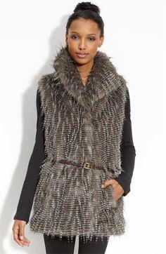 Kristen Blake Faux Fur Vest (Nordstrom Exclusive) | Nordstrom