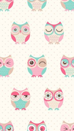 57 new ideas wallpaper iphone cute art Owl Wallpaper Iphone, Cute Owls Wallpaper, Galaxy Phone Wallpaper, Tier Wallpaper, Iphone Background Wallpaper, Kawaii Wallpaper, Animal Wallpaper, Colorful Wallpaper, Cellphone Wallpaper