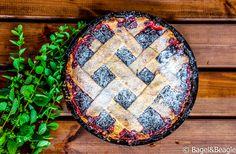 Классический рецепт вишневого пирога-плетенки