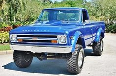 1967 Chevy 3/4 Ton Pick-Up Truck.