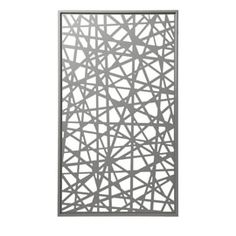 Panneau décor gris Idaho 120 x 171 cm