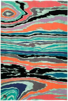 I present to you the 'Bois rug' by Jamie Drake for Roubini.