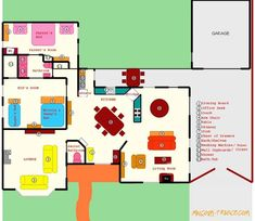 Malcolm in the Middle house floor plan