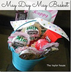 Easy May Day May Basket Ideas from The Taylor House