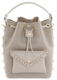 TrendForTrend is a service platform for professionals in the fashion and design industry offering a vast library of images and contents. Bucket Bag, Fall Winter, Beige, Contents, Accessories, Create, Top, Fashion, Moda