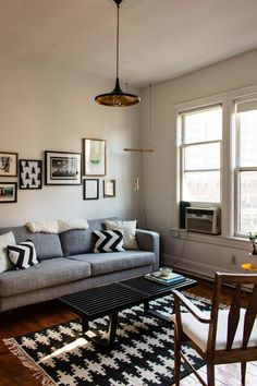 Taylor & Alana's Carefully Crafted Hoboken Apartment