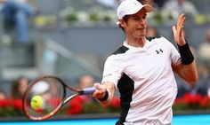 Andy Murray beat Rafael Nadal on his way to the final