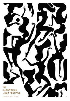 Afiche del Festival de Jazz de Montreaux 2017