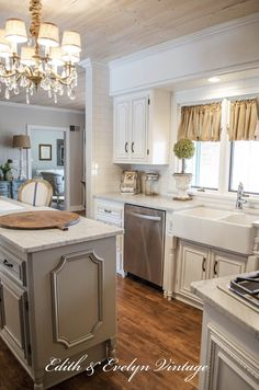 Transformation of a French Country kitchen