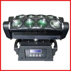 8 PCS rgbw 4 in 1 (only white )10W LED spider beam moving head light Email:sales02@wavestage.net Skype:wavelighting01 https://www.facebook.com/VickyHuangwavelighting