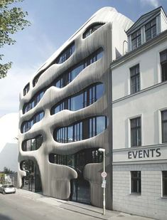 Residential building, Berlin, architects J Mayer H. Modernist Gaudi?