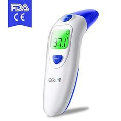 Mother & Kids Baby Ear And Forehead Thermometer Accurate Professional 4 In 1 Digital Medical Infrared Body Fever Thermometers Punctual Timing Thermometers