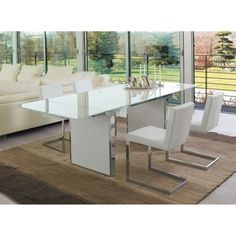 Antonello Italia SUN DINING TABLE Extendable Table With 2 Lateral  Extensions. Top And Extensions In