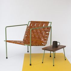 Rod+Weave Chair and Little Dude table / eric trine