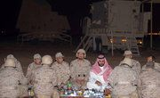 JEDDAH: Deputy Crown Prince Mohammed bin Salman arrived back in Saudi Arabia on Wednesday after a multi-week visit to France and the United States.The deputy crown prince, who is also the defense minister, flew directly to Najran and had iftar (break of the fast meal) with the soldiers defending the Kingdom's southern border.The deputy crown prince then attended a defense meeting.