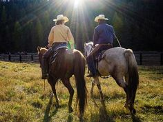 Bar W Guest Ranch adults only ranch vacations in Montana. #ranches #travel