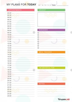Timetable Planner, Timetable Template, School Timetable, Cute Daily Planner, Daily Planner Pages, Daily Planner Printable, Free Planner, Day Planner Template, Daily Schedule Template