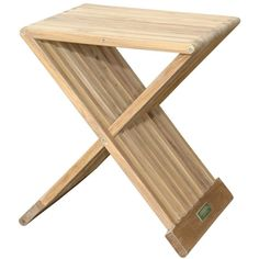 "Anderson Teak Marilla 16"" Side Folding Table"