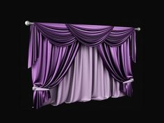 ▶ 3ds max tutorial Realistic curtain - YouTube