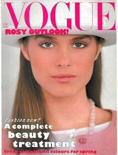 Jacki Adams, photo by Mike Reinhardt, Vogue UK, February 1983