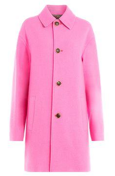 JUST CAVALLI Wool Coat. #justcavalli #cloth #short coat
