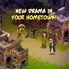 LIKE and SHARE if JESUS restored your SOUL!  New Feature!  Hometown Havoc!  What happened in your hometown?  Talk to the NEW visitor and and restore the glory in your town today!