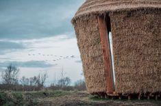 Studio Morison have completed Mother, a thatched hut designed to look like a hayrick, at the Wicken Fen Nature Reserve in Cambridgeshire. Pavilion Design, Small Buildings, Nature Reserve, Source Of Inspiration, Natural World, Countryside, England, Studio, Architecture