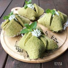 型不要!!初めてさんでも簡単❤️ふわっふわ〜ん抹茶シフォン | リユサさんのお料理