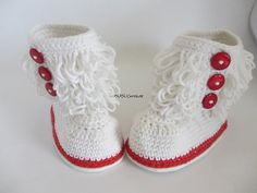 lovely baby shoes handmade Crochet Baby Booties soft baby toddle for summer winter 0-9 months,Crochet Baby Boots - Furry Boots