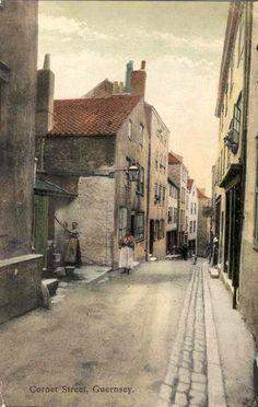 Cornet Street, Guernsey. #postcards