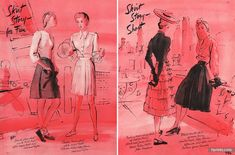 René Bouët-Willaumez 1942 John Frederics, Lord and Taylor, Russeks
