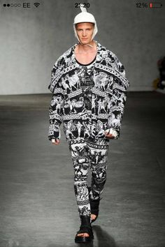 Collection inspired by Muse-Athena: KTZ SS15  -Bold -Armoured  -Heavy duty -Mythical Greek print