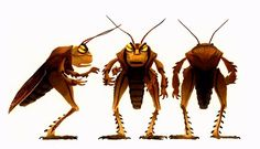 A Bugs Life- Hopper character design