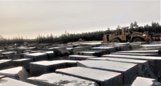 """Jake Barkley, principal founder of Kasota Stone, describes the company's Superior Northern granite as """"a deposit of rare quality."""" Stone Quarry, Black Granite, Lake Superior, Sustainable Design, Continents, Geology, Outdoor Spaces, Minnesota, Natural Stones"""