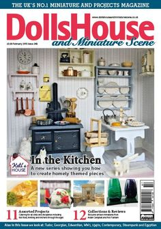 February 2015 Dolls House and Miniature Scene front cover http://www.collectors-club-of-great-britain.co.uk/Magazines/Dolls-House-and-Miniature-Scene/Issue/_is514