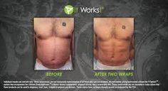 Men do it too! Just 2 wraps? Those results are amazing!