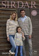 Buy Sirdar Crofter Dk Cardigans Pattern 7835 from the Knitting Patterns range at Hobbycraft. Cardigan Design, Cardigan Pattern, Yarn For Sale, Friends Instagram, Fair Isle Pattern, Knitting Supplies, V Neck Cardigan, Double Knitting, Needles Sizes