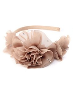 Chiffon Flower Headband or as simple as this