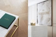 The Winslow by Vanderbrand — The Brand Identity Signage Display, Signage Design, Menu Design, The Winslow, Brand Identity, Branding, Wayfinding Signage, Property Development, Luxury Beauty