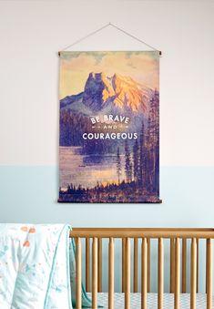 DIY Wall Banner