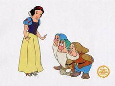 snow white disney photo: Snow White Disney Animation Cel SW2-.jpg