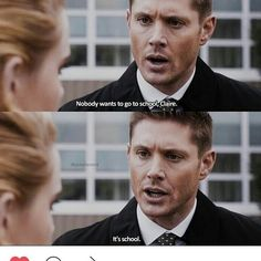 Truer words have never been said #supernatural